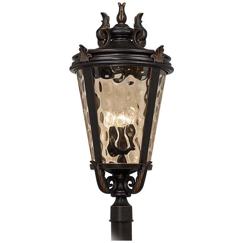"""Casa Marseille™ 33 1/2"""" High Bronze Outdoor Post Light"""