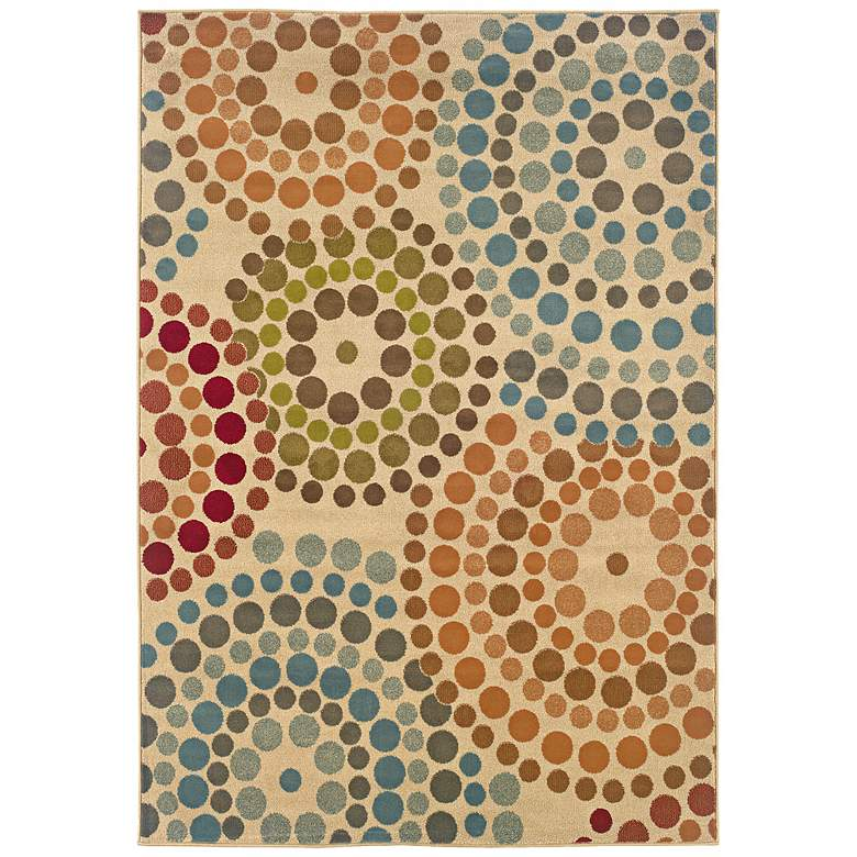 """Emerson Collection Color Burst 5'x7'6"""" Area Rug"""