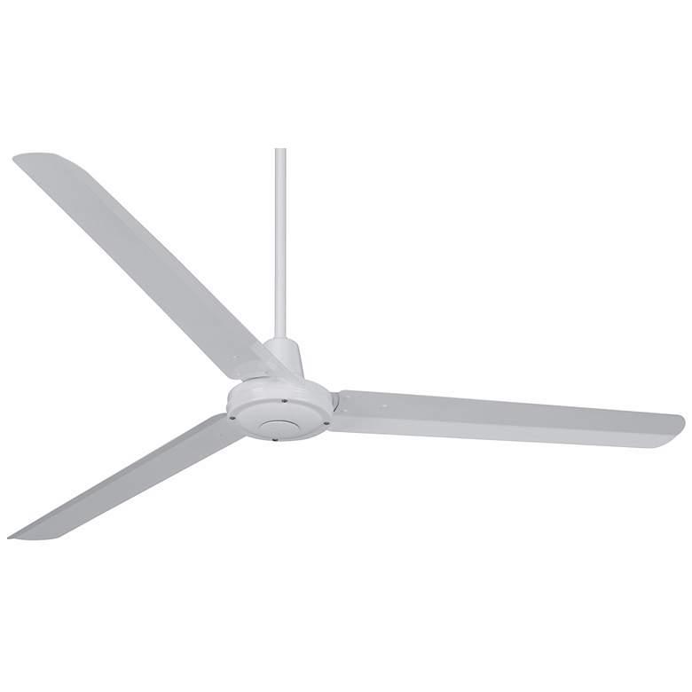 "60"" Casa Vieja Turbina White Ceiling Fan"