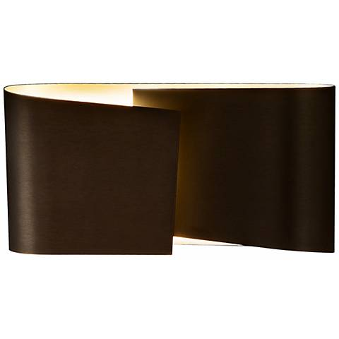 "Holtkoetter Filia Old Bronze 4"" High Wall Sconce"