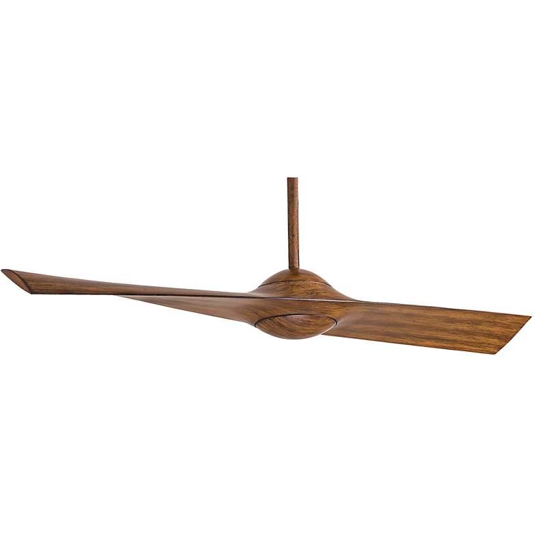"""52"""" Minka Aire Wing Distressed Koa Ceiling Fan"""