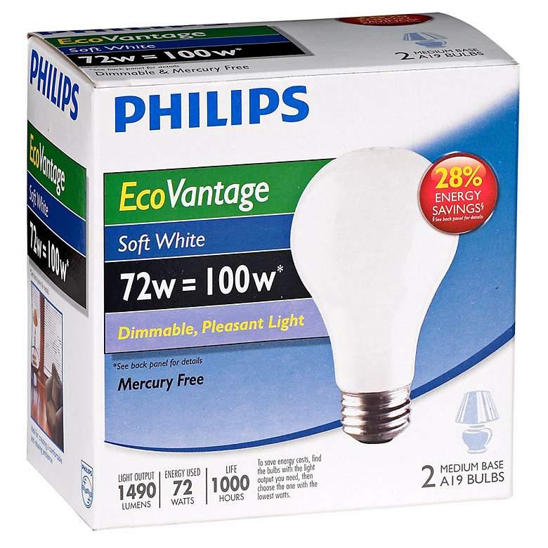 72W Equivalent 100 Watt-1490 Lumens Soft White Halogen Bulbs