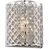 "Possini Euro Design Glitz 8 1/2"" High Pocket Wall Sconce"