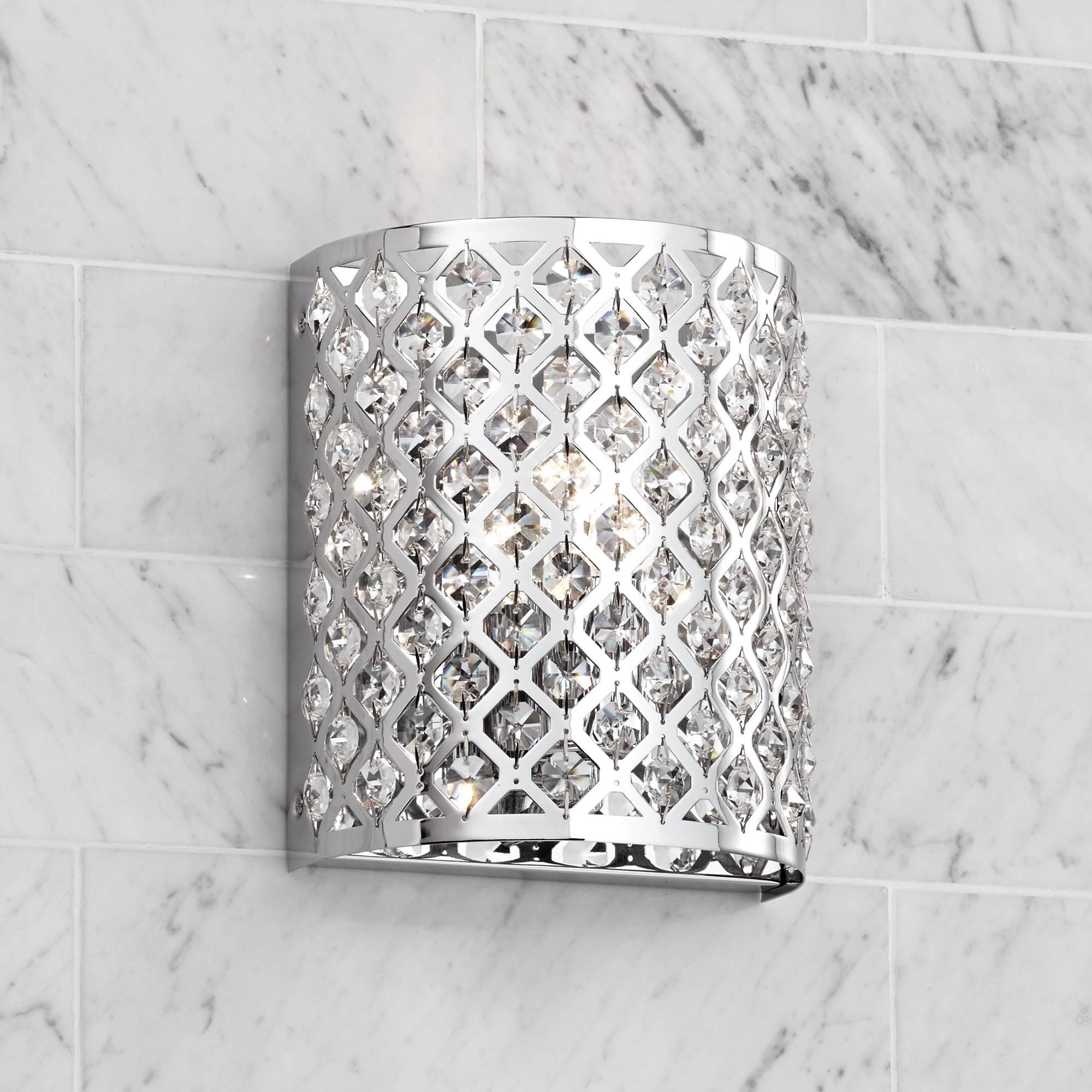 Modern Wall Light Sconce Chrome 8 1 2