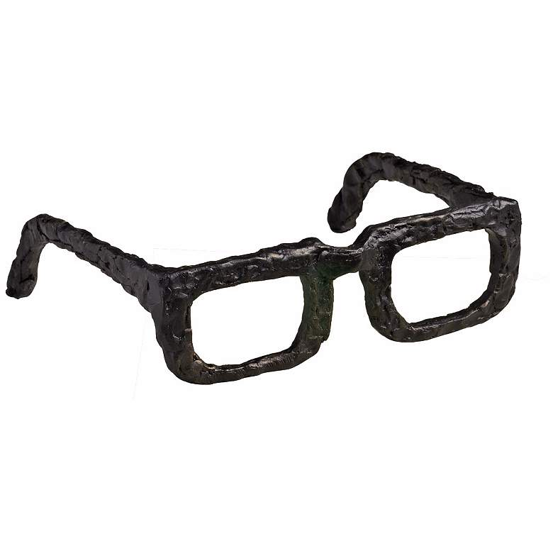 """Sculptured Iron 7"""" Wide Spectacles"""