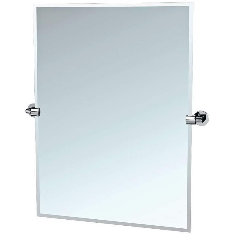 "Gatco 31 1/2"" High Chrome Tilt Zone Wall Mirror"