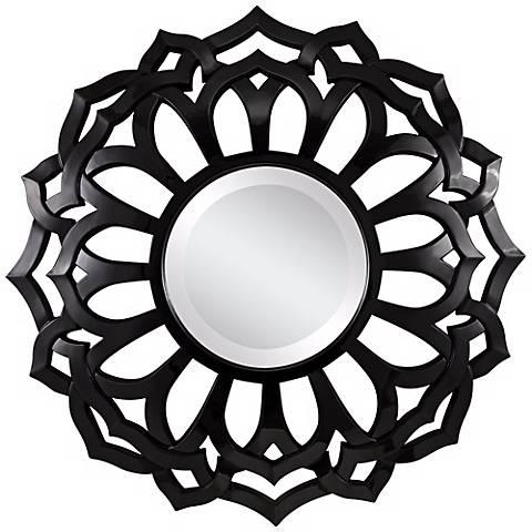 """Cooper Classics Covington 32"""" Round Wall Mirror"""