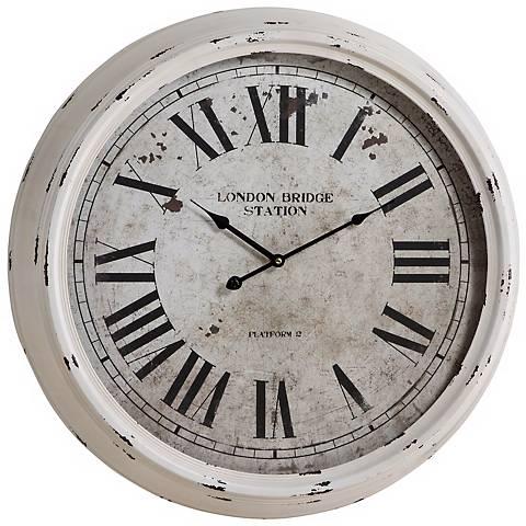 """Cooper Classics Daria 24"""" Wide Wall Clock"""