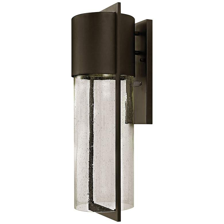"Hinkley Shelter 23 1/4""H LED Buckeye Outdoor Wall"