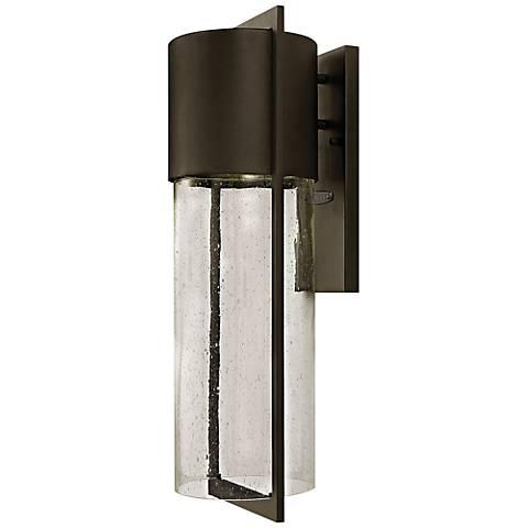 "Hinkley Shelter 23 1/4""H LED Buckeye Outdoor Wall Light"