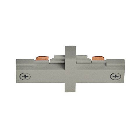 Juno Silver Straight Mini Connector Track Joiner