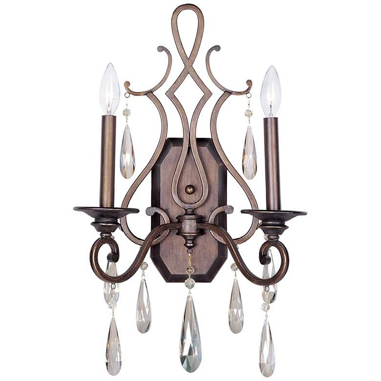 """Maxim Chic Collection Heritage 22 1/2"""" High Wall Sconce"""