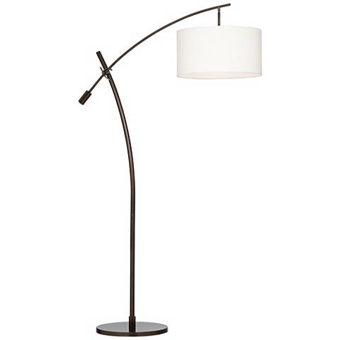 Possini Euro Bronze Finish Boom Arched Floor Lamp by Lamps Plus