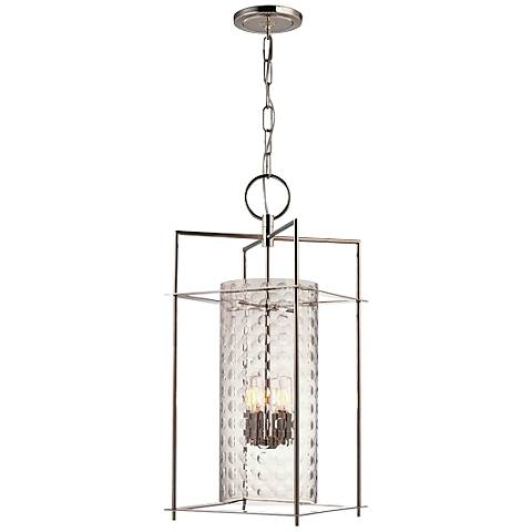 Hudson Valley Esopus 12 Inch Wide Nickel Mini Pendant  v3760 on houzz home design modern html