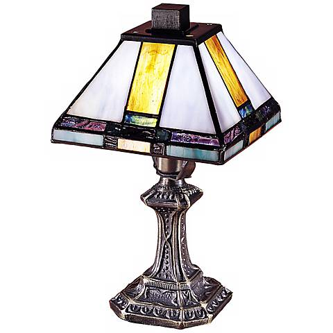 "Tranquility Mission 11"" High Style Dale Tiffany Accent Lamp"