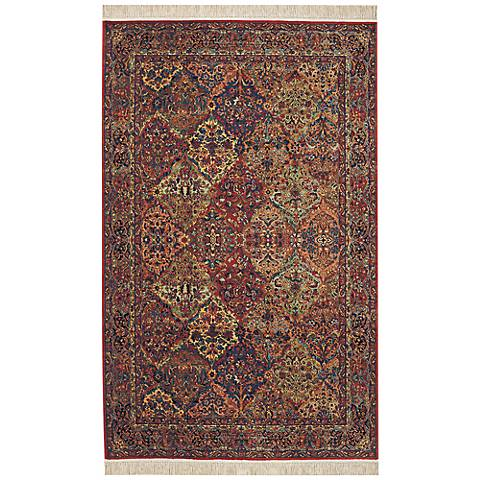 Multi Panel Kirman Original Karastan Area Rug