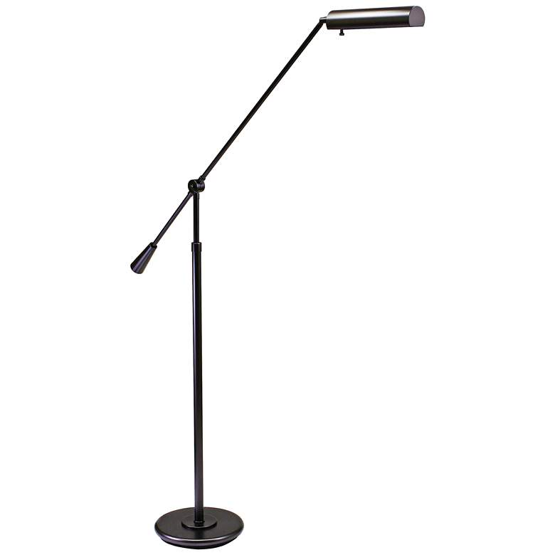 House of Troy Grand Piano Bronze Floor Lamp