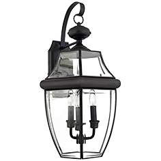 21 25 in high quoizel wall light outdoor lighting lamps plus