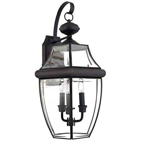 "Quoizel Newbury 22 1/2"" High Large Outdoor Wall Light"
