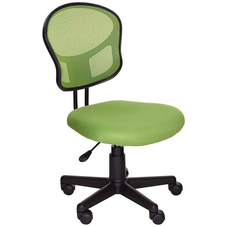 EM Green Mesh Adjustable Swivel Task Chair