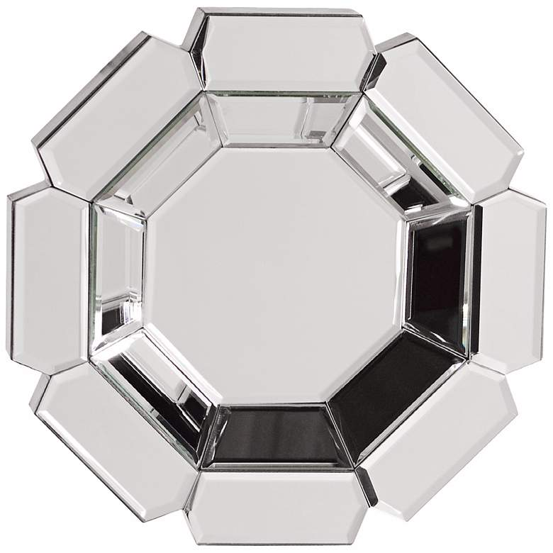 "Howard Elliott Charisma 14"" x 14"" Octagonal Wall Mirror"