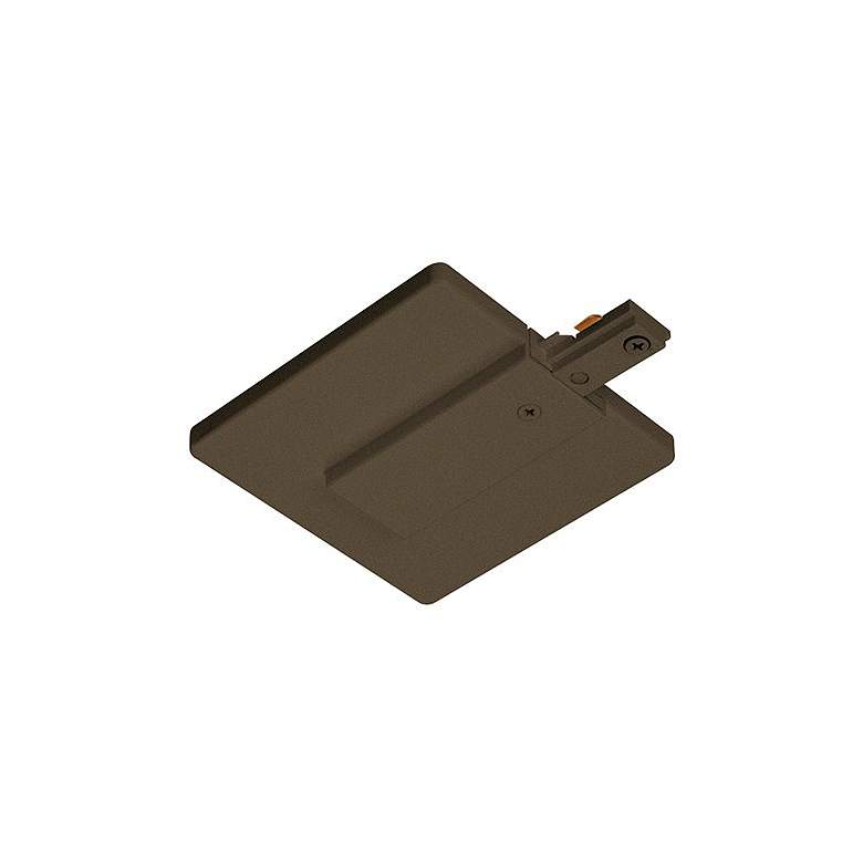 Juno Live End Connector with Cover in Bronze