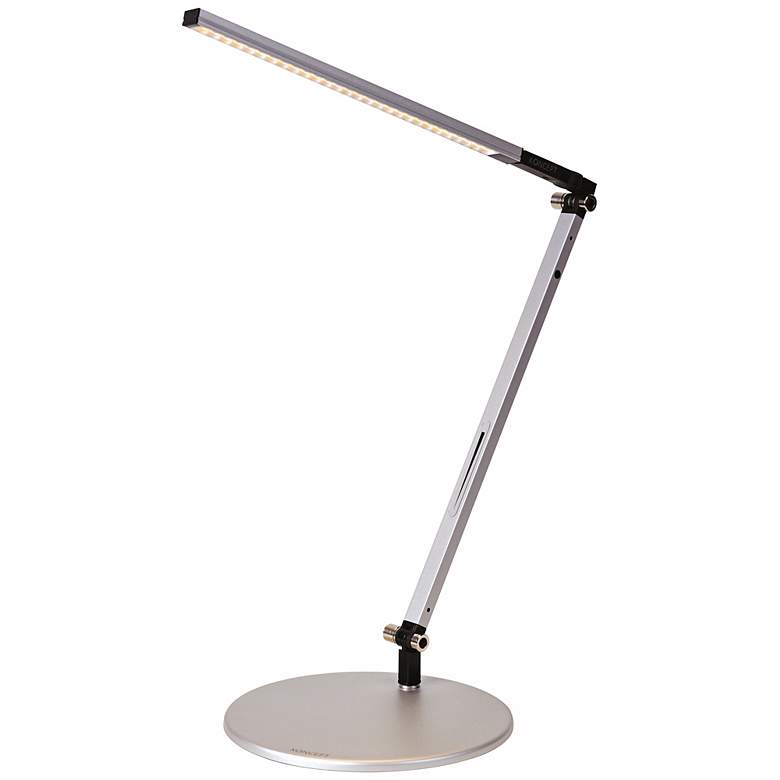 Gen 3 Solo Mini Daylight LED Touch Dimmer Silver Desk Lamp