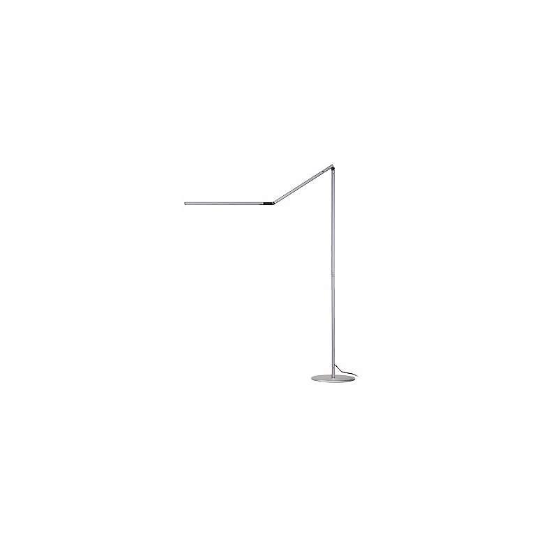 Gen 3 Z-Bar Warm Light Touch Dimmer LED Floor Lamp in Silver