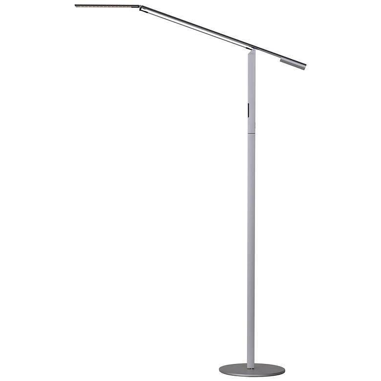 Koncept Gen 3 Equo Warm Light LED Floor Lamp Silver - # ...