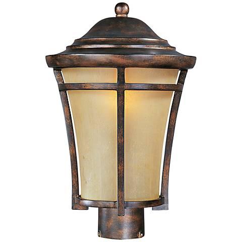 "Maxim Balboa VX 15 1/2"" High Copper Outdoor Post Light"