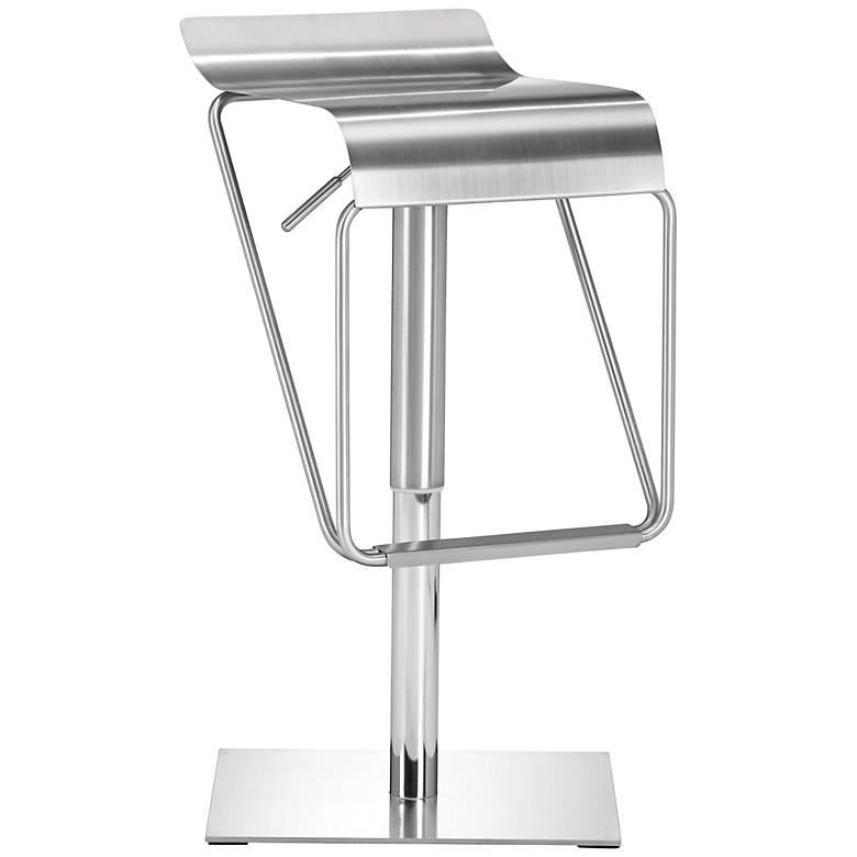 Zuo Dazzer Adjustable Height Steel Counter Stool