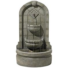 "Essex Spigot 41 1/2"" High Three Tier Floor Fountain"