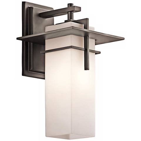 "Kichler Caterham 14 3/4"" Wide Outdoor Wall Light"