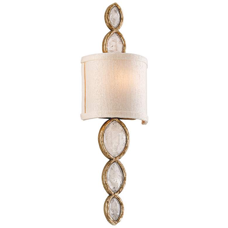 """Corbett Fame & Fortune 20 1/2"""" High Crystal Wall Sconce"""