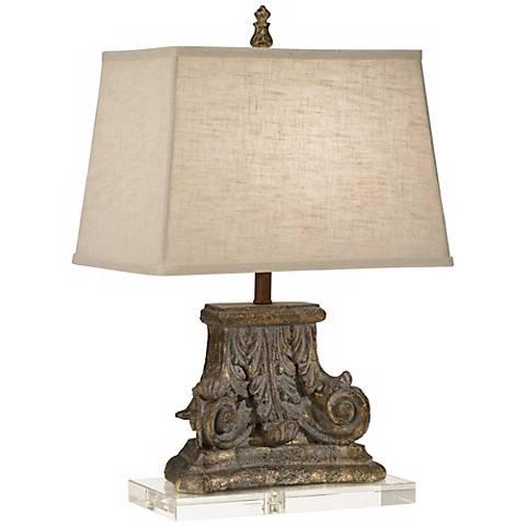 Regina Andrew Design Capitol Crystal Base Table Lamp