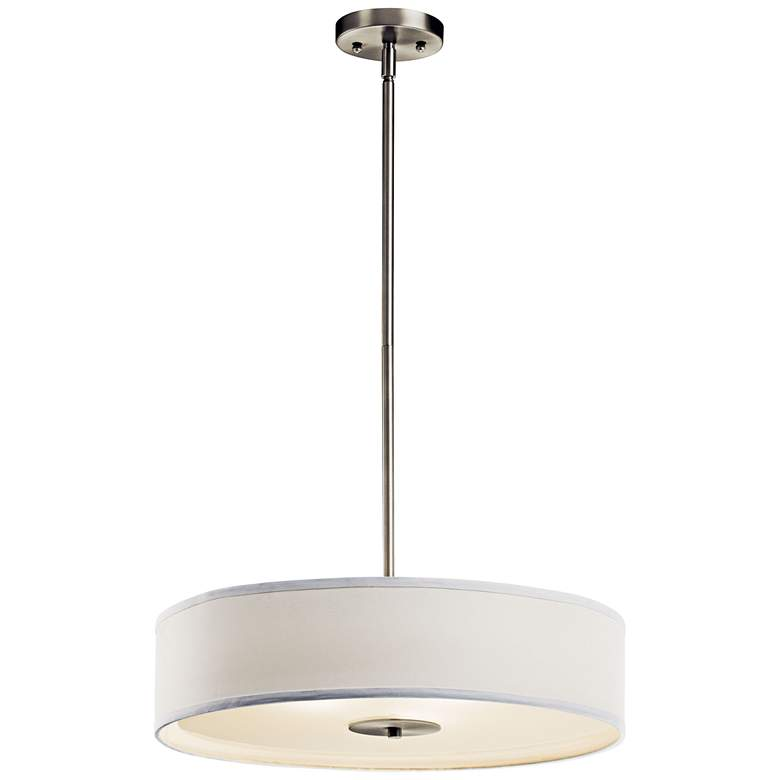 "Kichler 20"" Wide Brushed Nickel Pendant/Ceiling Light"