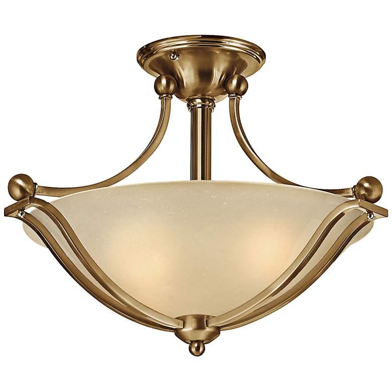 "Hinkley Bolla 19 1/4"" Wide Brushed Bronze Ceiling Light"