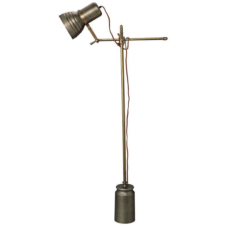 Jamie Young Singer Industrial Modern Floor Lamp