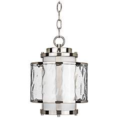 Modern hanging lantern light fixtures lamps plus bay court 12 34 mozeypictures Gallery