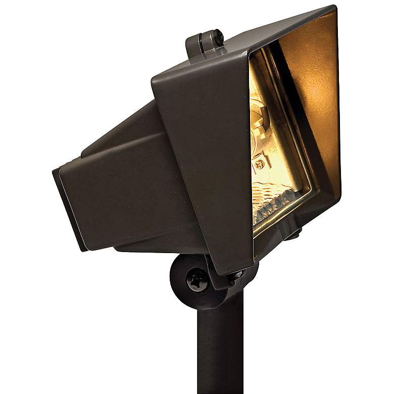 "Hinkley 6"" High Bronze Landscape Accent Flood Light"