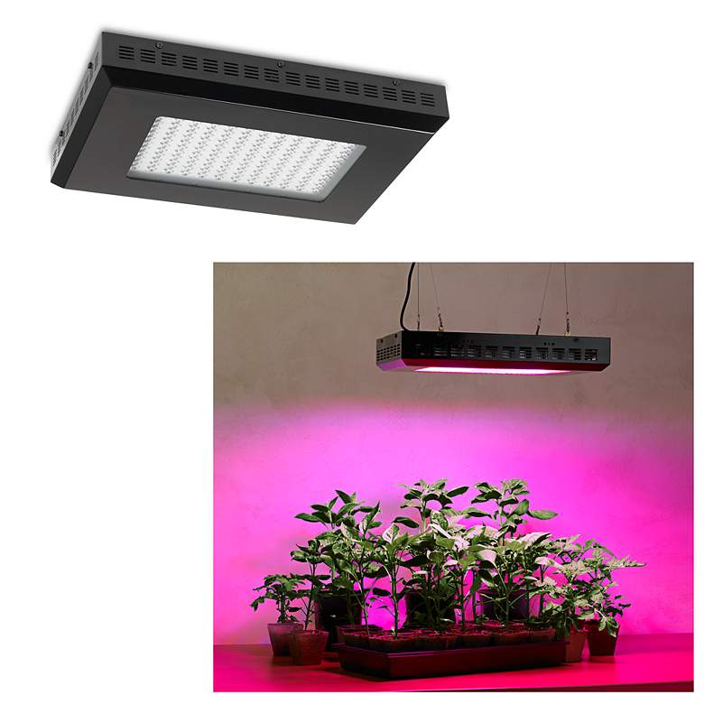 Tesler  Hydroponic 300 Watt Rectangular LED Grow Light