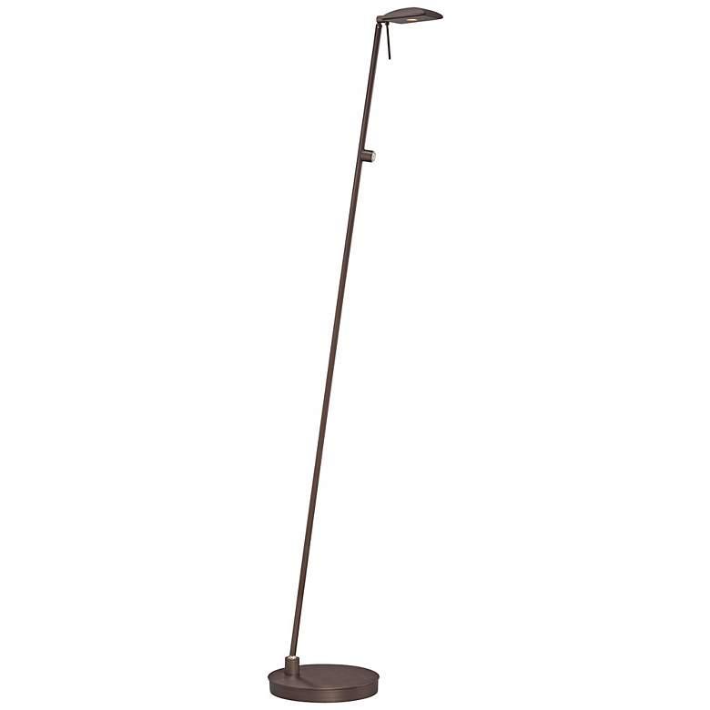 George Kovacs Copper Bronze Dome LED Pharmacy Floor Lamp