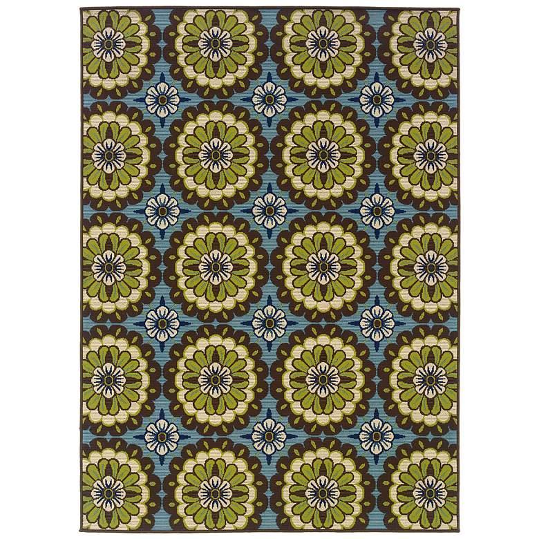 """Oriental Weavers Caspian 5'3""""x7'6"""" Outdoor Area Rug"""