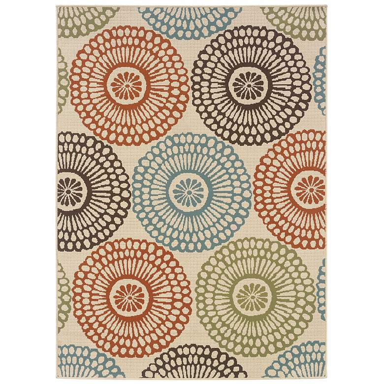 """Oriental Weavers Montego 5'3""""x7'6"""" Outdoor Area Rug"""