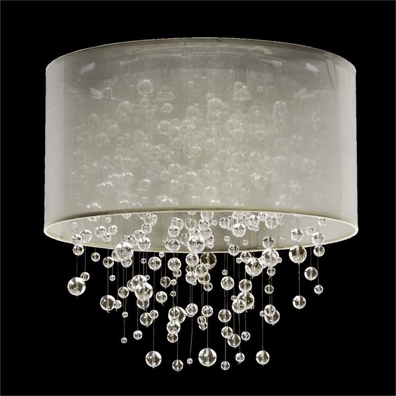 Silhouette 5-Light Sheer Organza Shade Ceiling Light