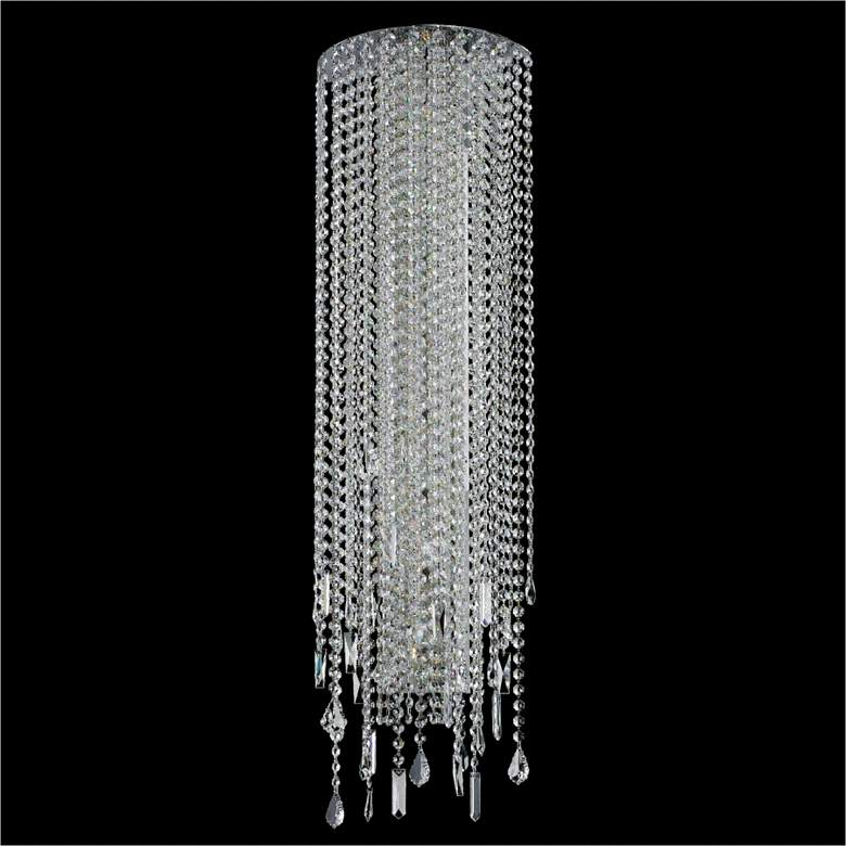 """Divine Ice 38"""" High Crystal Sconce"""