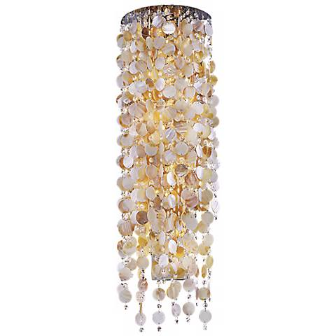 "Seaside Dreams 38"" High Wall Sconce"