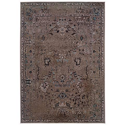 Oriental Weavers Revival 551Q Grey Area Rug