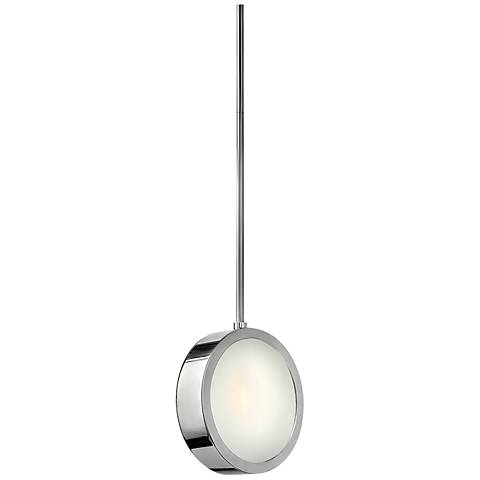 "Fredrick Ramond Broadway 8""W Vertical Aluminum Mini Pendant"