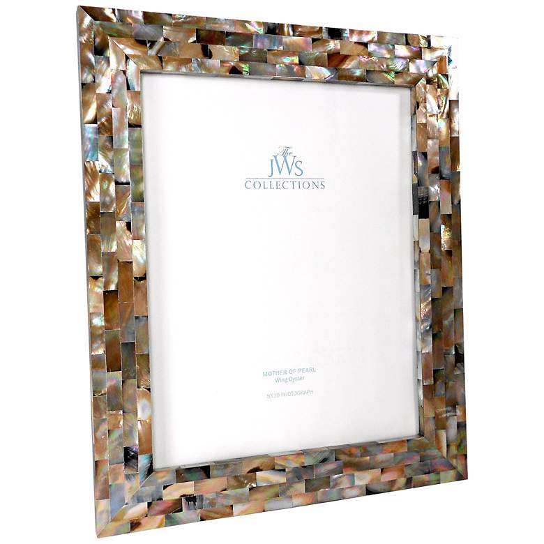 Wing Oyster Shell 8x10 Photo Picture Frame